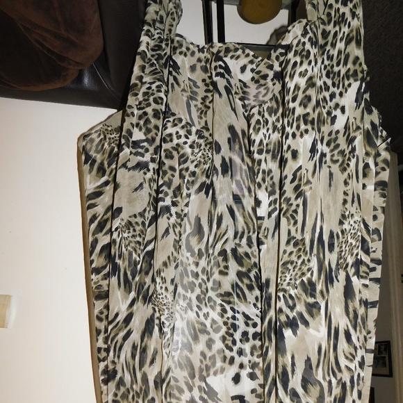 1e3d945e4825a Swim   Plus Size Womens Animal Print Suit Coverup   Poshmark
